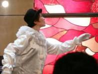 パントマイム;さとうゆみさん (共演) マルソーの『人生』、歌とパントマイムを組み合わせた『タイスの瞑想曲』を上演  『新世界へ』海の日コンサート シャロンゴスペルチャーチ 東京都・池袋 2009.7.19