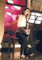 薗田 可奈子さん  『恋とはどんなものかしら』ソロ演奏