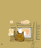 『喫茶店の猫』