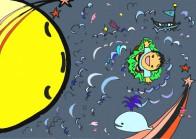 『月とモリオール』☆月とモリオールのお話☆