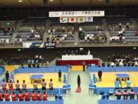 平成25年度前期日本卓球リーグ神奈川大会 国歌斉唱  2013.6.16 川崎市,